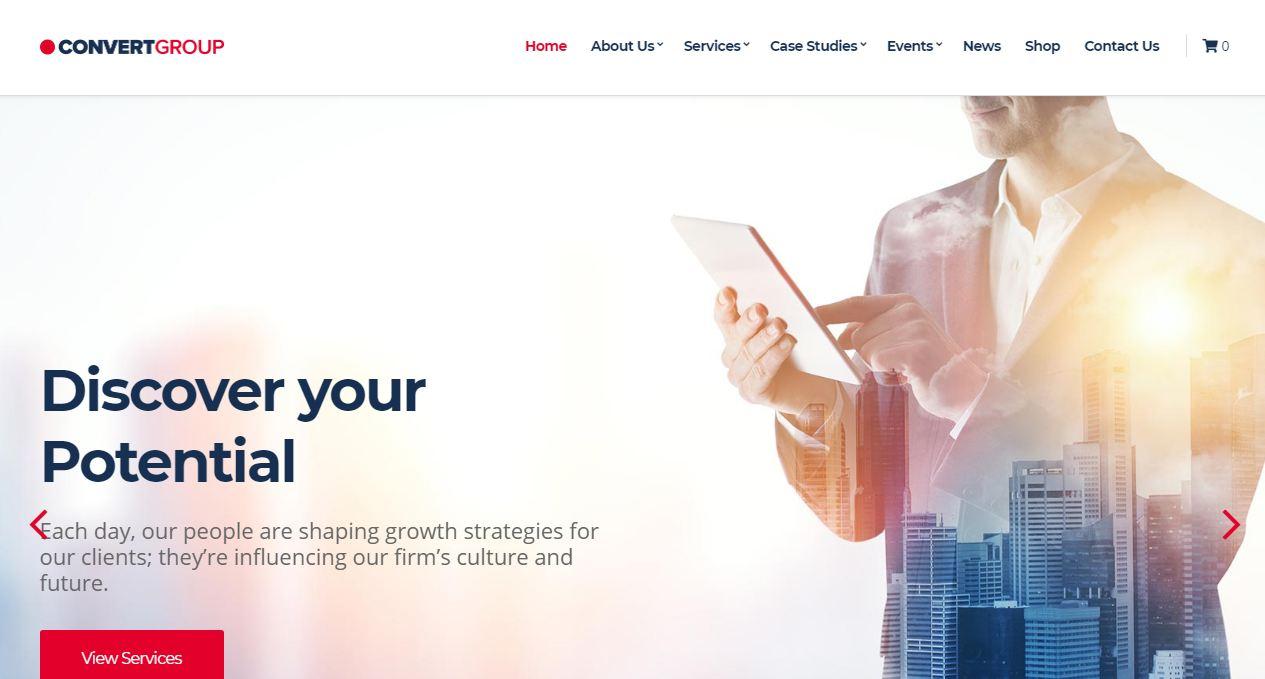 Cssigniter - theme wordpress giới thiệu công ty đẳng cấp