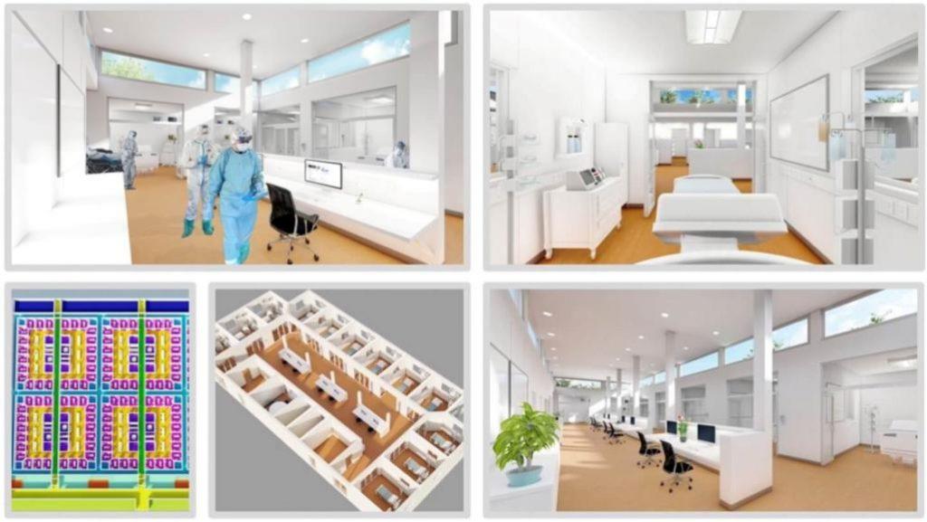 Xu hướng xây dựng bệnh viện